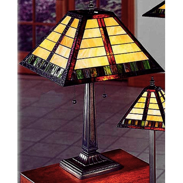 Table lamps mission lamps tiffany lamps stained glass aloadofball Gallery