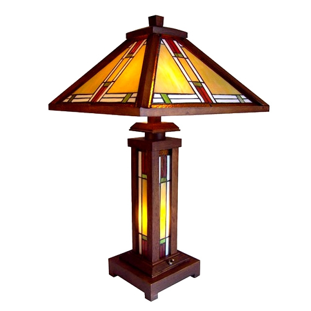 Table lamps mission lamps tiffany lamps stained glass aloadofball